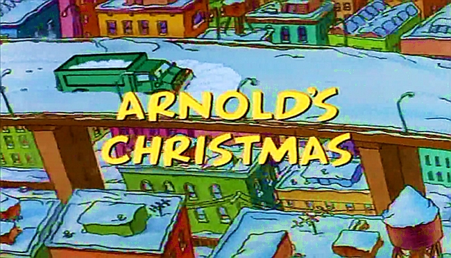 Arnold's Christmas | Hey Arnold! - A Critical Analysis